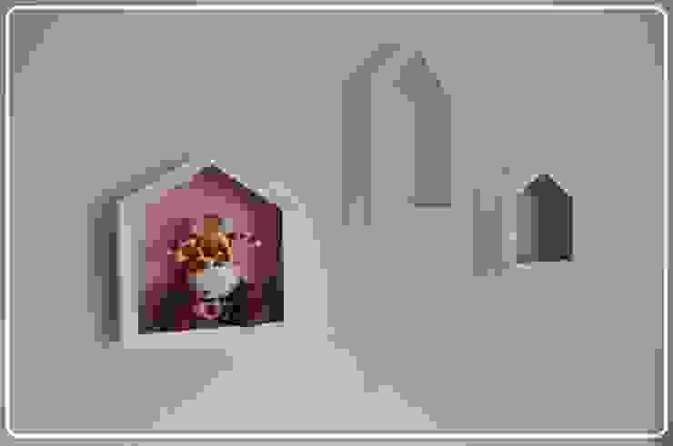 Półko domki na zabawki od Zuzu Design Nowoczesny
