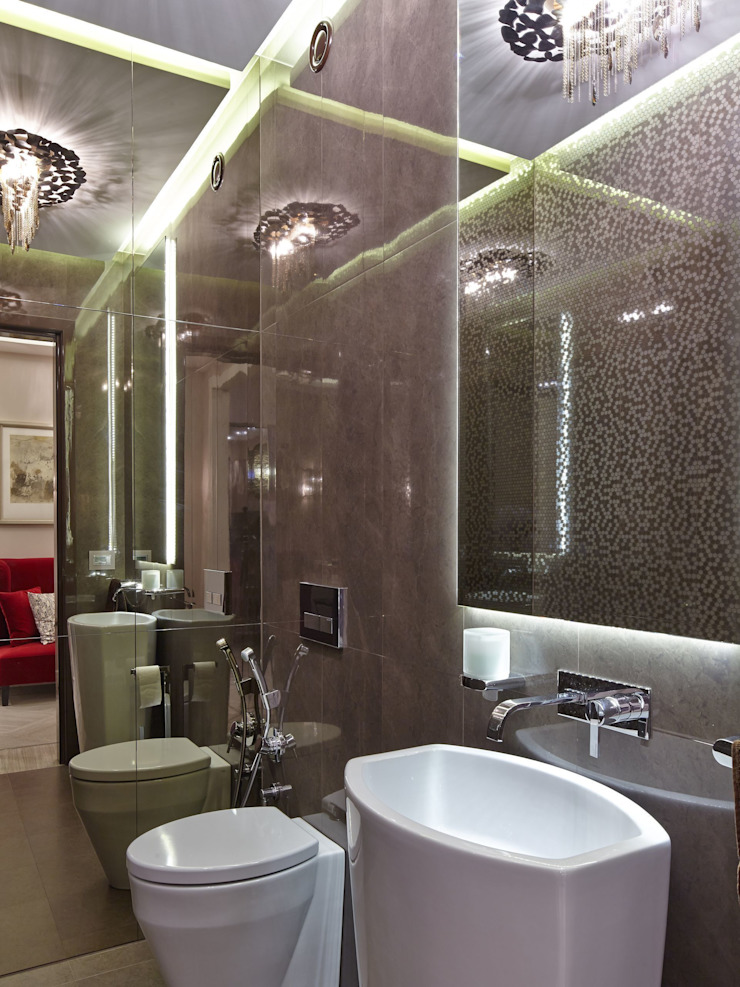 D&A INTERIORS Modern Bathroom