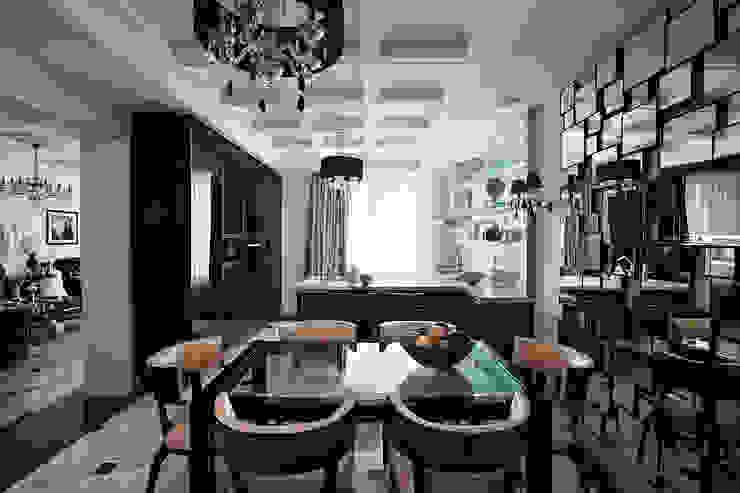 Кухня-столовая. от архитектор Виктория Тажетдинова