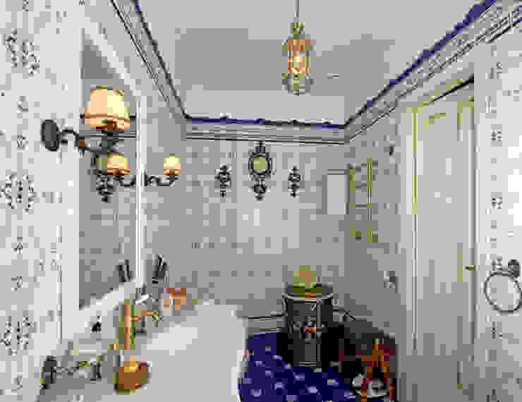 Ванная. от архитектор Виктория Тажетдинова