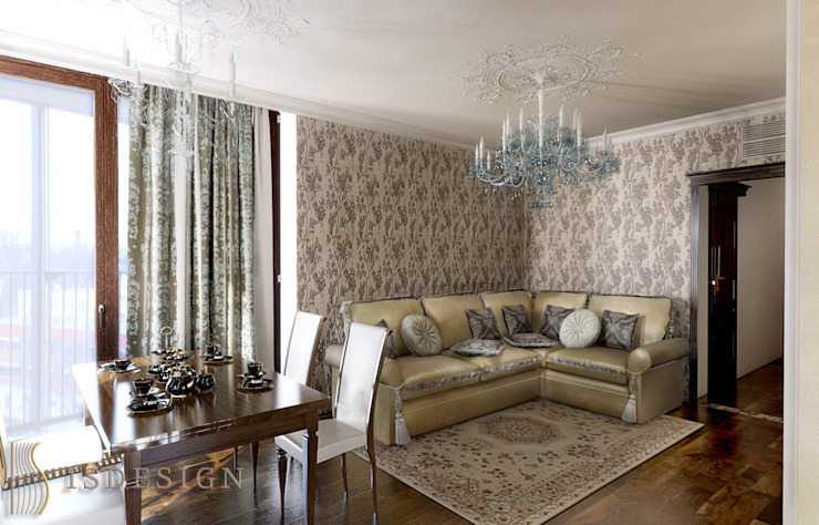 Гостиная Гостиная в классическом стиле от ISDesign group s.r.o. Классический