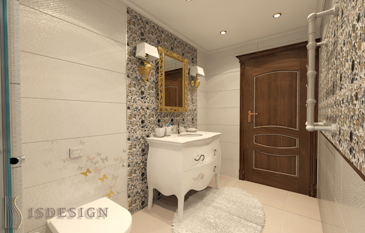 Душевая комната Ванная в классическом стиле от ISDesign group s.r.o. Классический