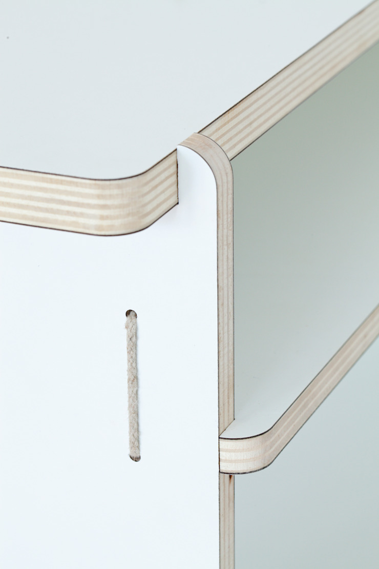 Detail Desk van Studio Toon Welling Minimalistisch