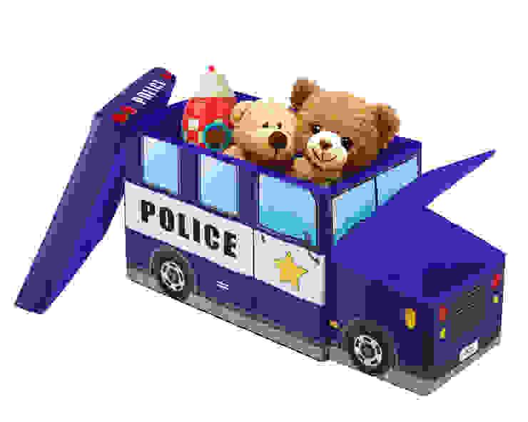 2118P PUFF INFANTIL GUARDA-TODO POLICIA de JOCCA - Qualimax International S.L. Moderno