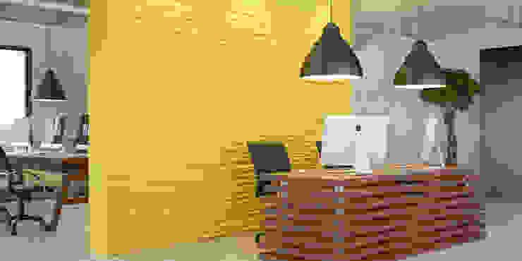 Suny office Офисы и магазины в стиле лофт от PRO-DESIGN Лофт