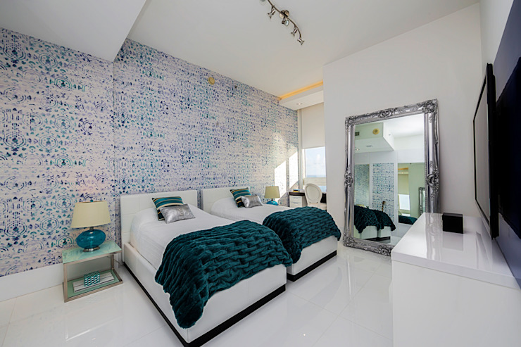 Modern style bedroom by Infinity Spaces Modern