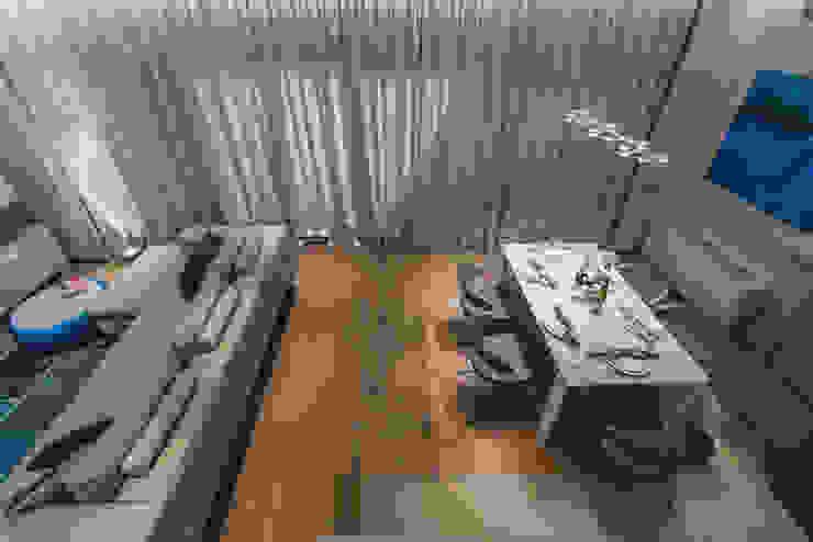 Квартира Бухта Мечты Столовая комната в стиле модерн от INCUBE Алексея Щербачёва Модерн