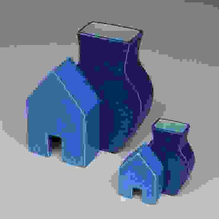 Huisvazen: modern  door Ines de Booij, Modern