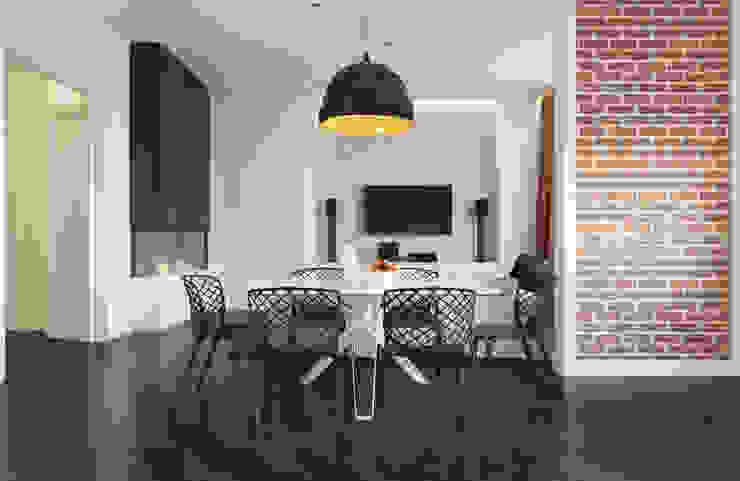 Гостинная Гостиная в стиле минимализм от 3d artist, 3d visualizer Минимализм