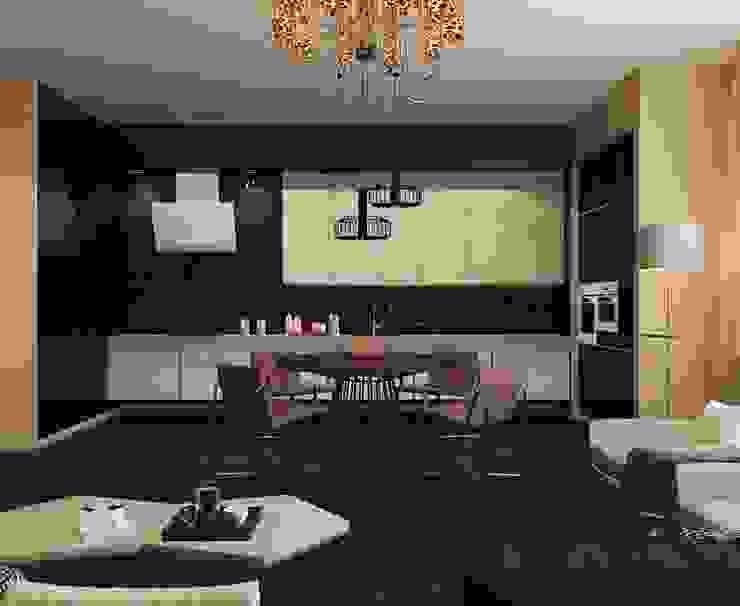 에클레틱 주방 by Design by Ladurko Olga 에클레틱 (Eclectic)