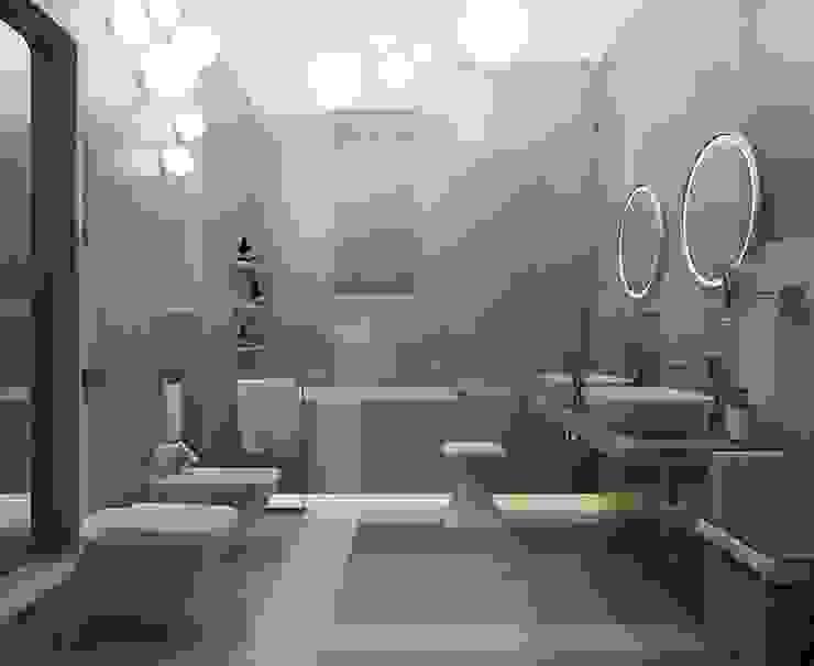 Квартира Golem Ванная комната в эклектичном стиле от Design by Ladurko Olga Эклектичный