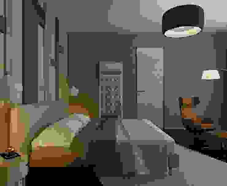 Квартира Golem Спальня в эклектичном стиле от Design by Ladurko Olga Эклектичный