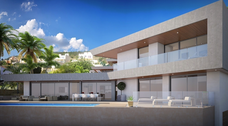 GRAN SOL Casas de estilo moderno de PGK Studios Moderno