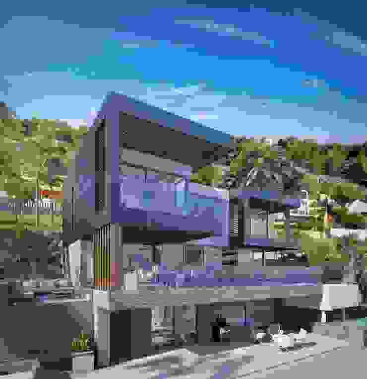 CORONA Casas de estilo moderno de PGK Studios Moderno