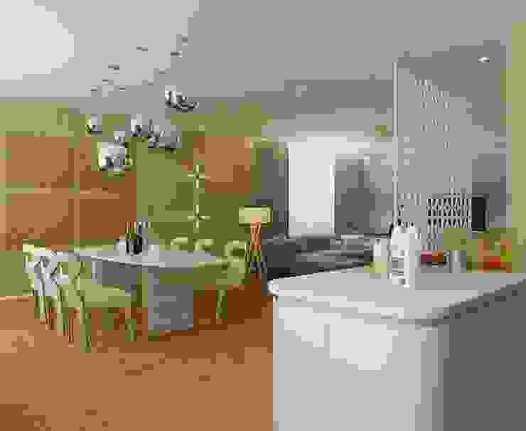 STRIPES Кухни в эклектичном стиле от Design by Ladurko Olga Эклектичный