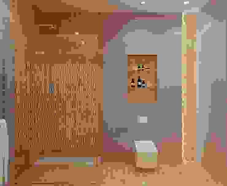 STRIPES Ванная комната в эклектичном стиле от Design by Ladurko Olga Эклектичный