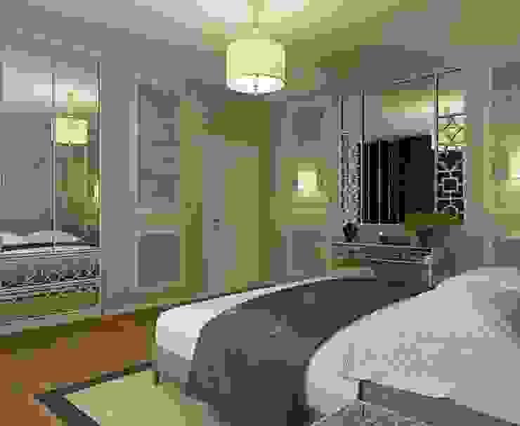 STRIPES Спальня в эклектичном стиле от Design by Ladurko Olga Эклектичный
