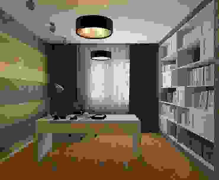 STRIPES Рабочий кабинет в эклектичном стиле от Design by Ladurko Olga Эклектичный