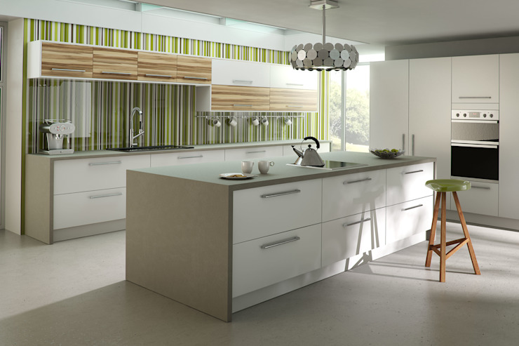 DM Design Premier White Range Door Modern kitchen by DM Design Modern