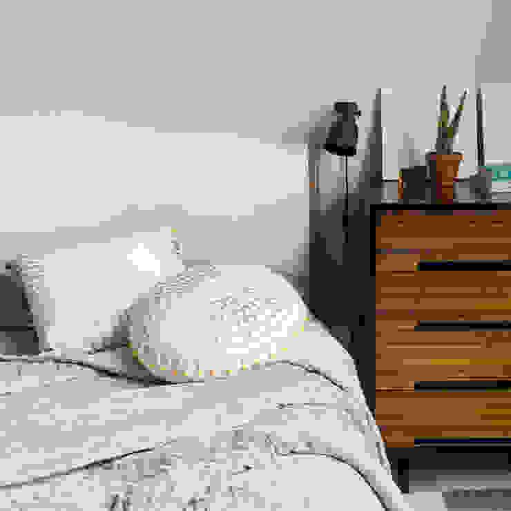 Concentric Cushion (Dove Grey/White) and Optical Cushion : minimalist  by Niki Jones, Minimalist
