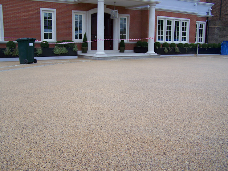 Resin bound permeable paving Permeable Paving Solutions UK Modern Walls and Floors