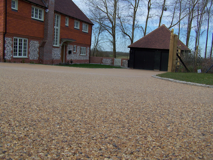 Permeable Paving Permeable Paving Solutions UK Walls Stone Amber/Gold