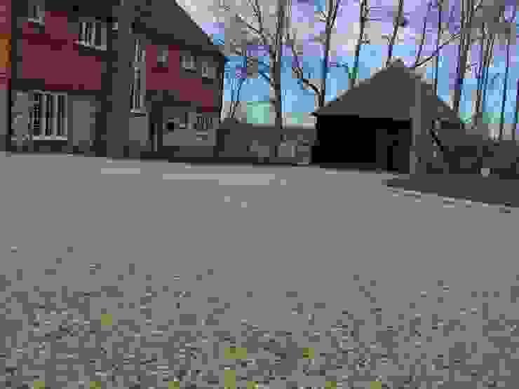 Permeable Paving Permeable Paving Solutions UK Minimalistische Wände & Böden Stein Bernstein/Gold