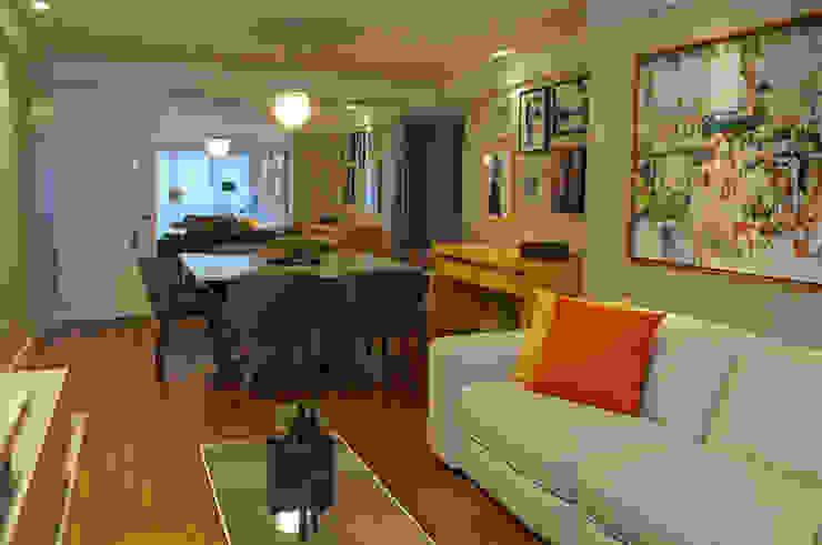 Yellow Salas de estar modernas por Ju Nejaim Arquitetura Moderno