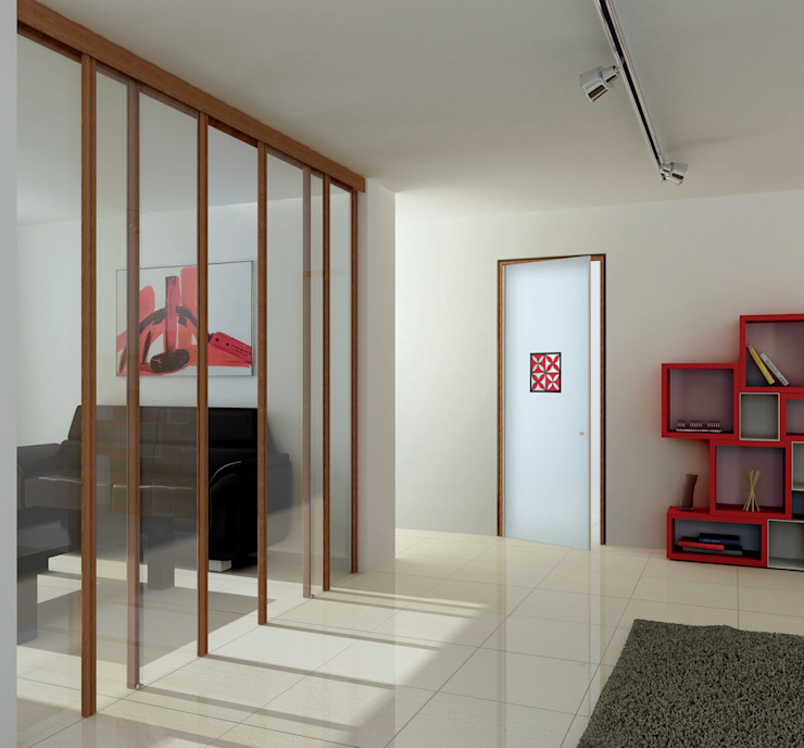 Vita Glass Doors de ALM Design Moderno