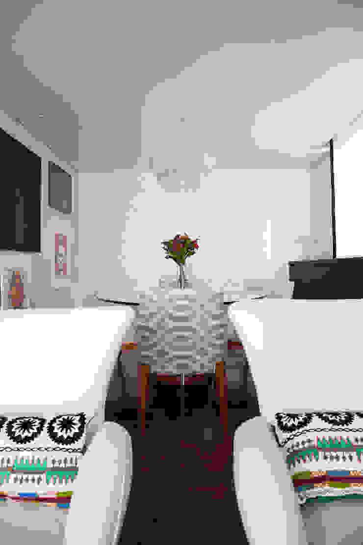 sala de jantar Salas de jantar modernas por Arquitetura Juliana Fabrizzi Moderno