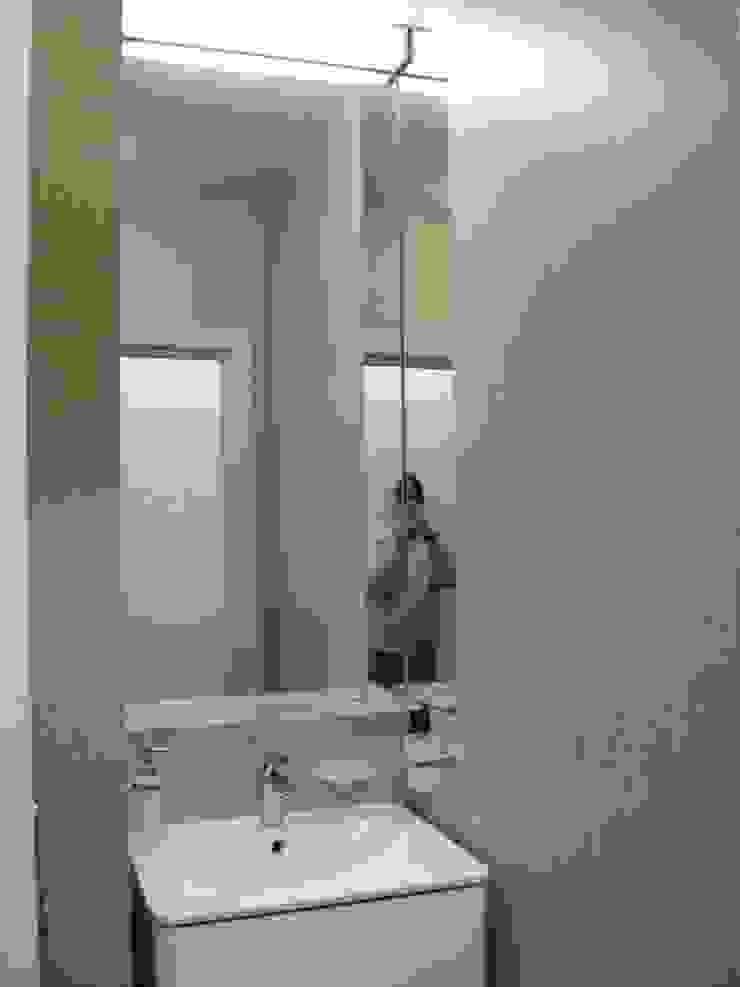 Квартира по финским лекалам Ванная комната в стиле минимализм от Format A5 Fontanka Минимализм
