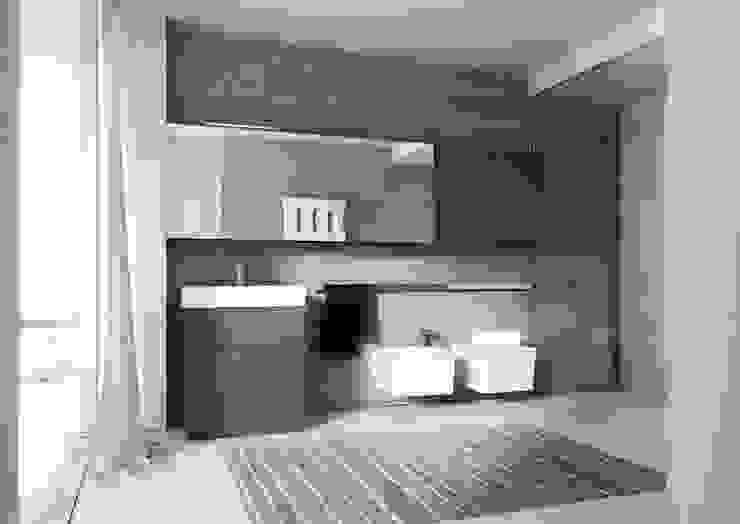 CUBIC Bathroom : minimalist  by ALM Design , Minimalist