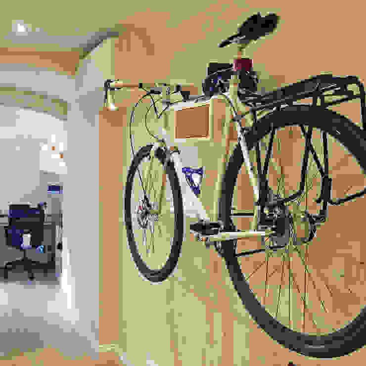 Bike storage London. Minimalist study/office by Absolute Project Management Minimalist