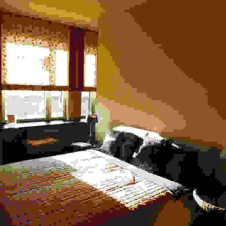 Квартира по финским лекалам Спальня в скандинавском стиле от Format A5 Fontanka Скандинавский