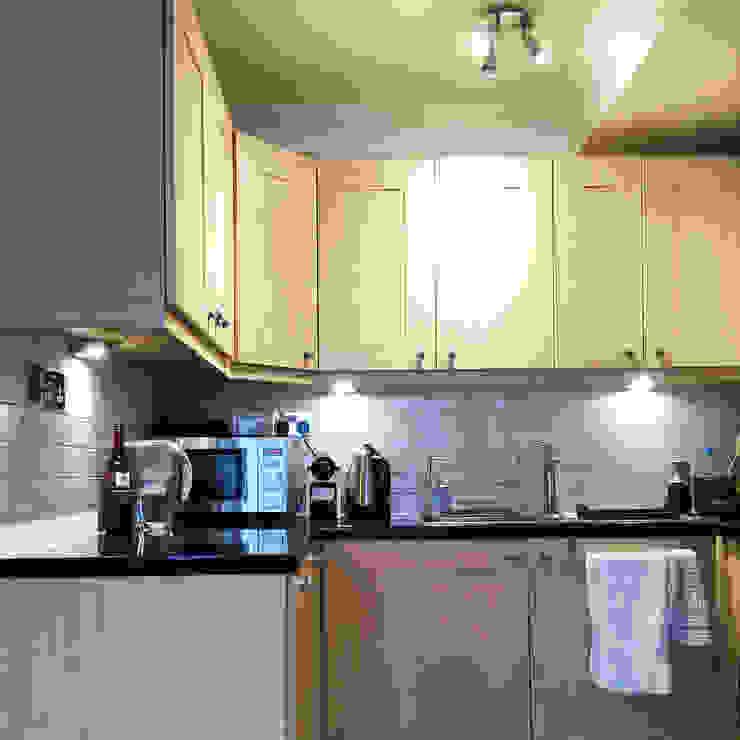 Compact Kitchen, London Minimalist kitchen by Absolute Project Management Minimalist