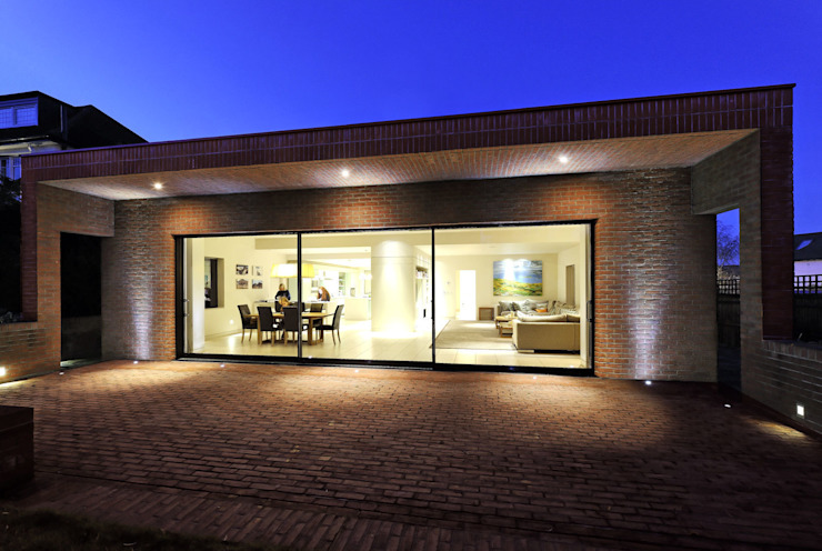 Muswell Hill House - 1 Minimalistische huizen van Jonathan Clark Architects Minimalistisch