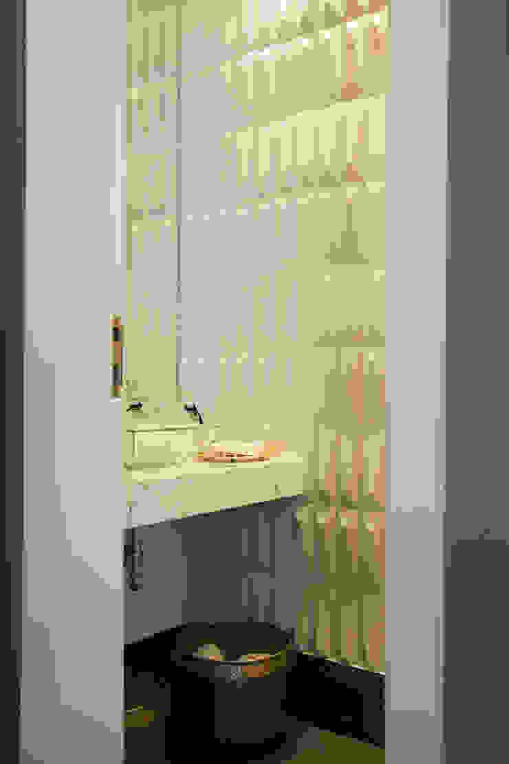 detalhe lavabo Banheiros modernos por Arquitetura Juliana Fabrizzi Moderno