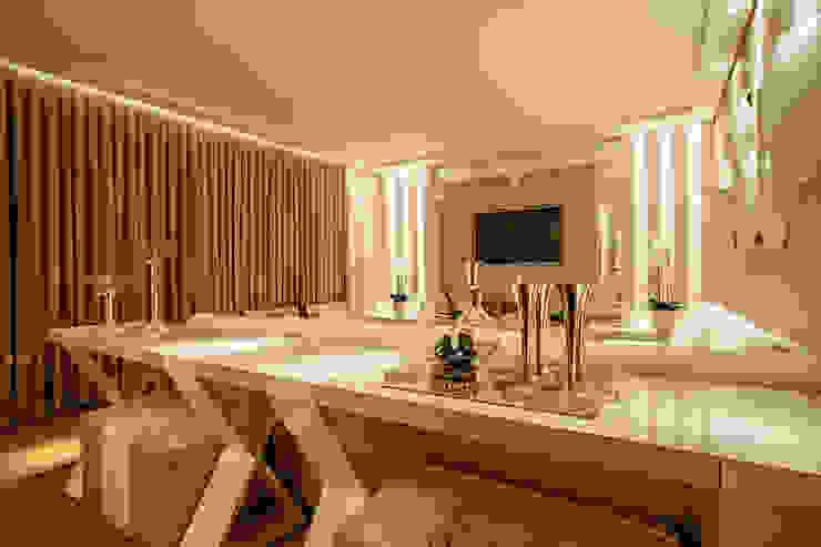 Livings de estilo moderno de Rolim de Moura Arquitetura e Interiores Moderno