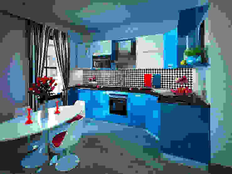 Кухня в стиле поп-арт Кухня в стиле модерн от Студия дизайна интерьера Маши Марченко Модерн