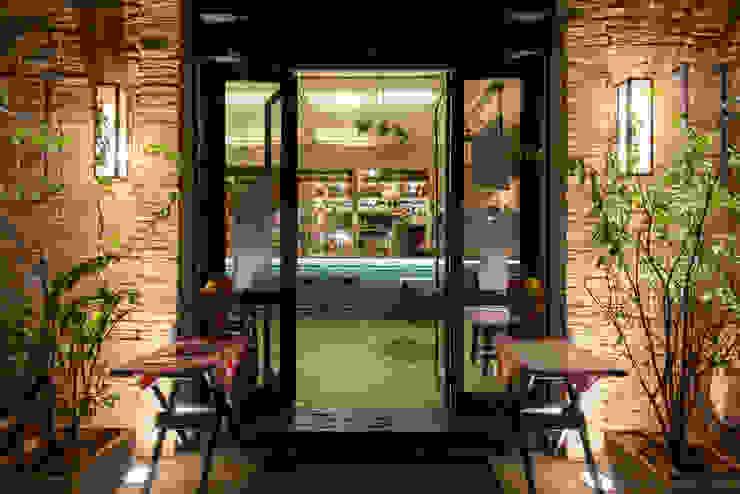 Entrada. Espaços gastronômicos ecléticos por Arquitetura Juliana Fabrizzi Eclético