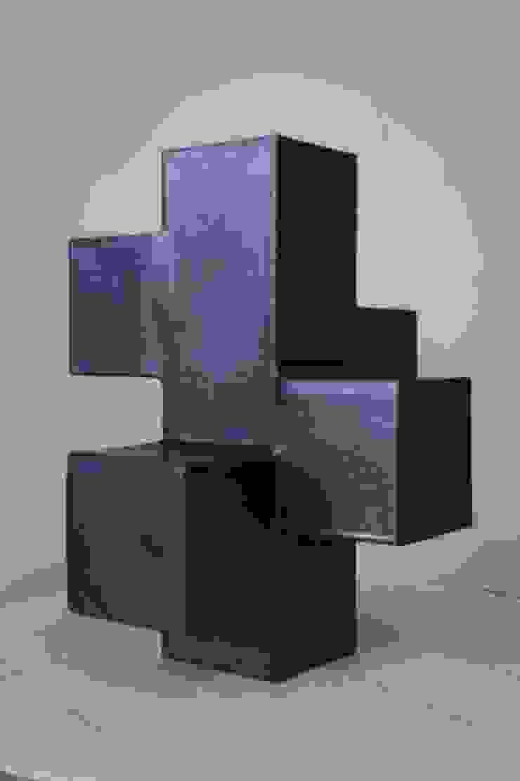 Blokvaas: modern  door Barst! Keramiek, Modern