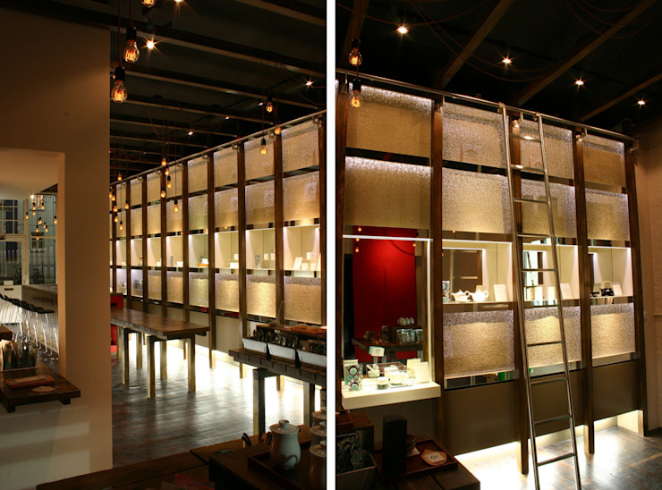 Tea Smith - 4 Asian style commercial spaces by Jonathan Clark Architects Asian