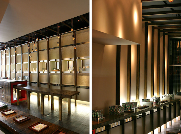 Tea Smith - 7 Modern commercial spaces by Jonathan Clark Architects Modern