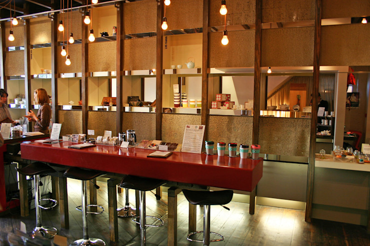Tea Smith - 8 Asian style commercial spaces by Jonathan Clark Architects Asian