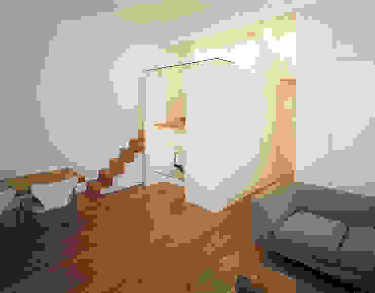 Little Venice Apartment - 1 Minimalist living room by Jonathan Clark Architects Minimalist