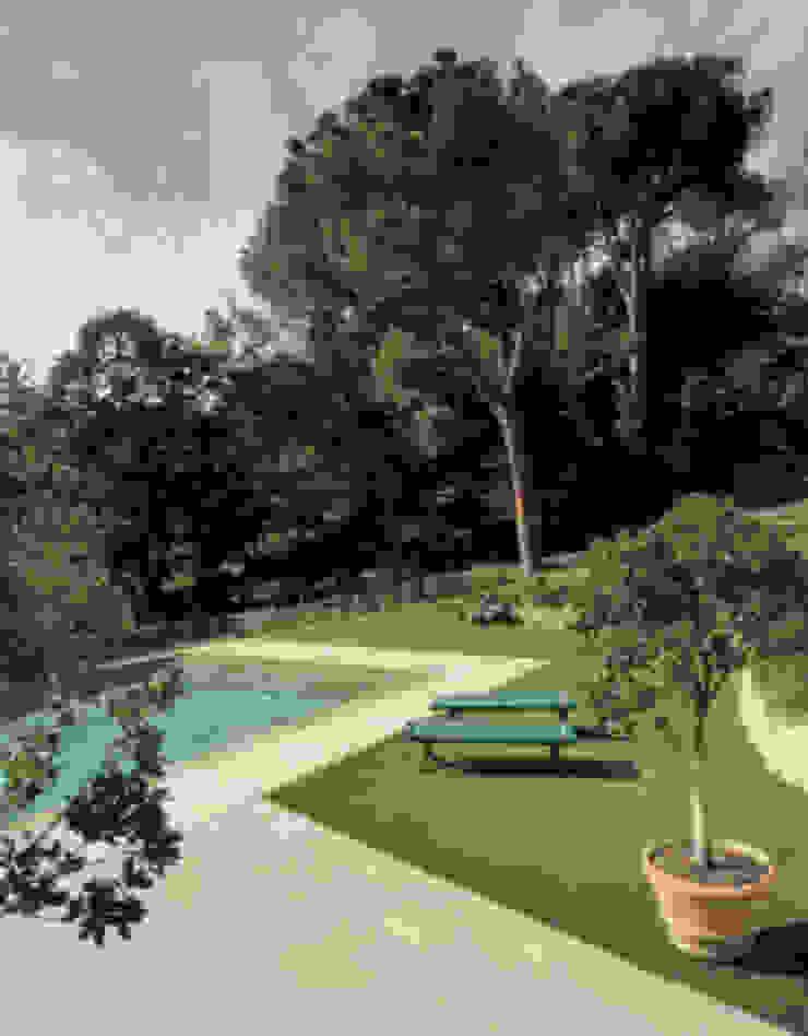 Casa Nuova Piscina minimalista di Studio Mazzei Architetti Minimalista