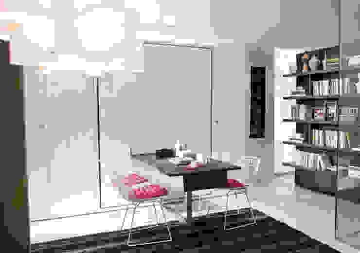 Cama abatible con mesa de comedor incorporada Mobiliario Xikara Salones de estilo minimalista