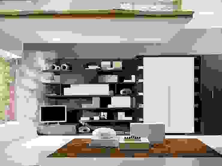 Salas de estilo  por Mobiliario Xikara, Minimalista