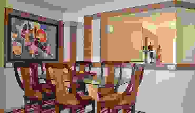 Sala de jantar por Ésse Arquitetura e Interiores