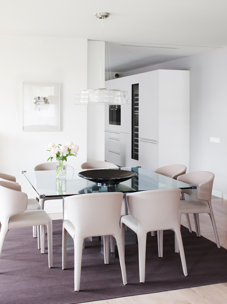 A! Emotional living & work Minimalist dining room
